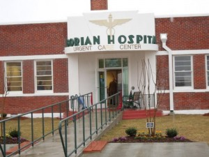 Taborian Hospital, founded in 1940 by a group of Black businessmen called the Knights of Tabor, was a full service hospital that served the entire region. Afrikan Americans, barred from most hospitals, came from all over to receive treatment. The chief surgeon, T.R.M. Howard, also established the town's public swimming pool and public zoo. The hospital, closed in 1980, was restored and re-opened April 6, 2014.