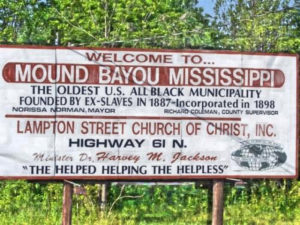 Welcome-to-Mound-Bayou-Mississippi-sign-300x225, National Afrikan Amerikan Family Reunion Association brings families together to free themselves from poverty, National News & Views