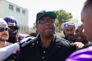 Golden State Giants President John Burton
