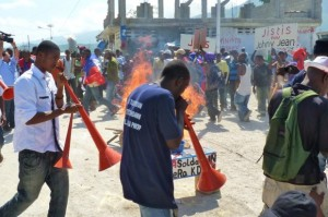 Haitians-demand-justice-for-Johnny-Jean-Haitian-youth-raped-by-five-Uruguayan-UN-troops-by-Ansel-300x199, Et tu, Brute? Haiti's betrayal by Latin America, World News & Views