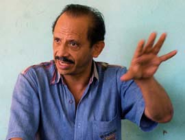 """Norwin Meneses is the man the Nicaraguans call the King of Drugs. He's a millionaire businessman, an ex-""""Freedom Fighter"""" and a long-time CIA operative. – Photo: Gary Webb, Mercury News"""