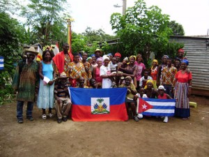 """In """"Reembarque,"""" these descendants of Haitians gather in Camagüey, Cuba."""
