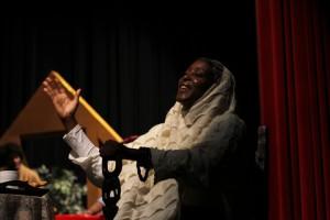 "Yolanda Stevenson as Older Harriet in ""Go Tell It! A Harriet Tubman Christmas Story"""