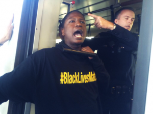 "BART police, from the force that murdered Oscar Grant, prompting the years-long resistance that inspires Ferguson, seemed perplexed when the all-Black Blackout Collective risked their lives on so-called Black Friday to say, ""Black lives matter."""
