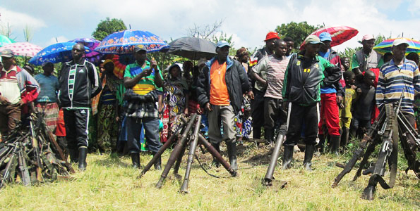 FDLR-surrender-to-DR-Congo-053014-by-Jean-Baptiste-Badhera-AFP, FDLR offer to disarm, demobilize, join political process, World News & Views