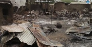 Reportedly, over 3,000 structures have been destroyed, as whole villages were burned to the ground.
