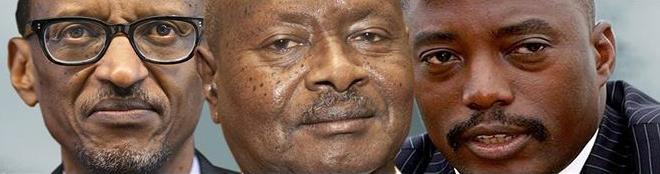 Kagame-Museveni-Kabila-montage, Congo's problems are Museveni, Kagame and Kabila, not the FDLR, World News & Views