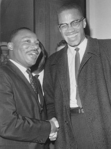 Martin-Luther-King-Malcolm-X-the-meeting-224x300, Hajj Malcolm Shabazz: Malcolm and Martin came at the same enemy from different angles, National News & Views