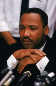 Martin-Luther-King-pensive-at-microphones-1962-197x300, Hajj Malcolm Shabazz: Malcolm and Martin came at the same enemy from different angles, National News & Views
