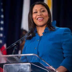 District 5 Supervisor London Breed, though still in her first term, was elected president of the board on Jan. 8, 2015.