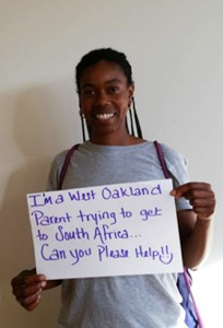 Send Mack to Africa Campaign 'I'm a West Oakland parent' 0115