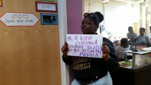 Send Mack to Africa Campaign 'I'm a West Oakland student' 0115