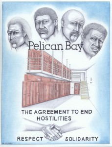 """The Agreement to End Hostilities"" – Art: Michael D. Russell, C-90473, PBSP SHU D7-217, P.O. Box 7500, Crescent City CA 95532"