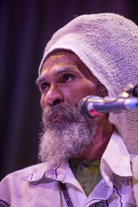 Famed percussionist (steel drum and djembe) Val Serrant – Photo: Malaika Kambon