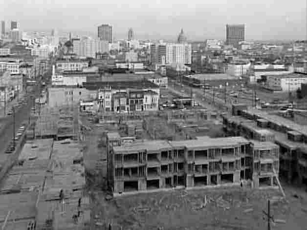 Eventually, some housing was built, but very few of the thousands of Black families displaced were able to move back to the Fillmore.