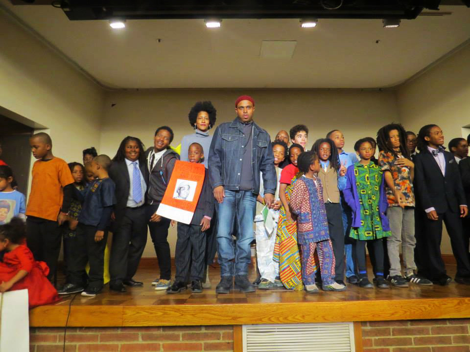 Obi Egbuna and his Mass Emphasis Children's History and Theater Company