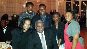 Sandre-Swanson-with-youth-at-his-Youth-Foundation-fundraiser-022115-by-Kia-Croom-300x169, Swanson Youth Foundation hosts 1st scholarship gala, Culture Currents