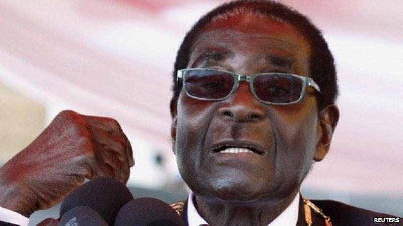 Zimbabwe President Robert Mugabe stands strong at 91. – Photo: Reuters