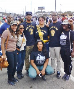 All-of-Us-or-None-2400-mile-journey-to-Bloody-Sunday-50th-Selma-Harriette-Davis-with-sash-w-Alabama-State-Univ.-students-0315-250x300, Formerly incarcerated people drive 2,400 miles to celebrate 50 years since Bloody Sunday in Selma, National News & Views