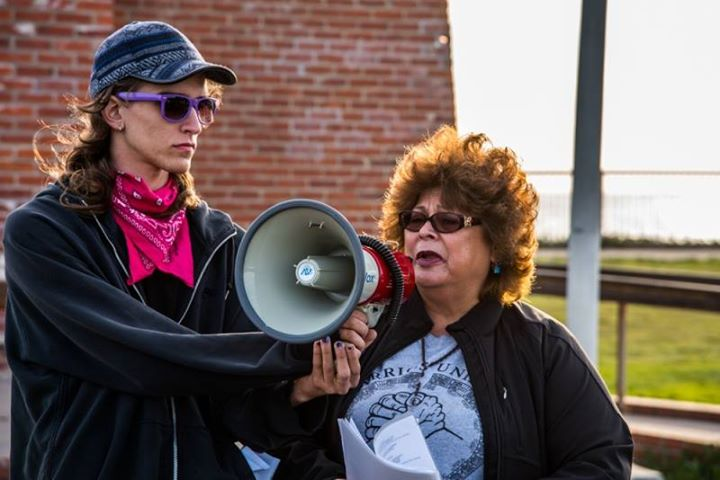 Cynthia Fuentes honored her brother, acclaimed poet Robert Fuentes, who died of medical neglect after 20 years in the dreaded Pelican Bay SHU. - Photo: Alex Darocy