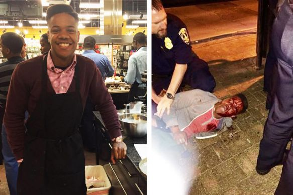 Martese-Johnson, Viciously beaten University of Virginia honor student Martese Johnson did not have a fake ID, attorney says, National News & Views