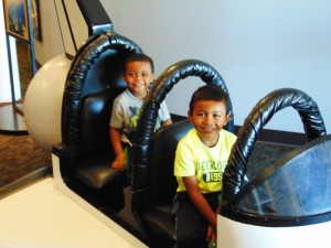Morris-Turner's-grandkids-Isaiah-and-Marcelo-in-space-shuttle-1214-300x225, Grandfatherhood: Part 2, Culture Currents