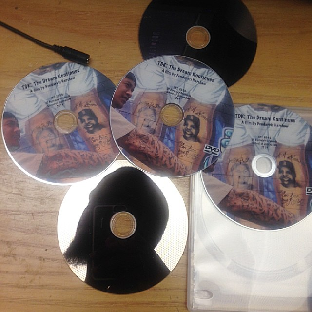 TDK The Dream Kontinues DVDs