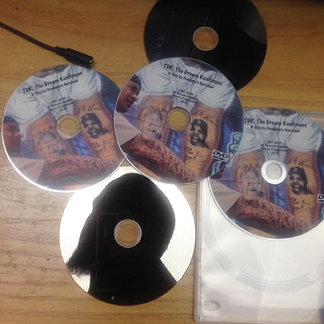 TDK The Dream Kontinues DVDs