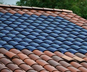 Thin-film solar is flexible enough for a tile roof. – Photo: US Tile
