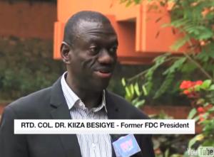 Dr. Kizza Besigye speaks to NTV-Uganda.