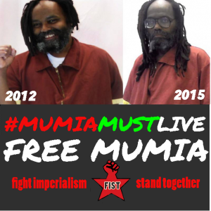 Free-Mumia-2012-2015-pics-for-61st-bday-by-FIST-300x300, Prison refuses Mumia medical care as his 61st birthday is celebrated worldwide – update: Mumia GRAVELY ill, National News & Views