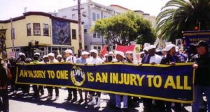 ILWU-West-Coast-port-shutdown-for-Mumias-freedom-on-his-45th-bday-042499-300x161, Prison refuses Mumia medical care as his 61st birthday is celebrated worldwide – update: Mumia GRAVELY ill, National News & Views