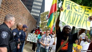 London-march-to-Free-Mumia-120911-by-Getty-Images-300x169, Prison refuses Mumia medical care as his 61st birthday is celebrated worldwide – update: Mumia GRAVELY ill, National News & Views