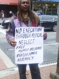 April 10 was a National Day of Action for Mumia Abu-Jamal. Protests were held around the U.S. and in several other countries to support this internationally revered journalist and political prisoner whose life is being endangered by medical neglect.