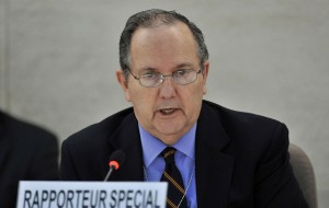 U.N. Special Rapporteur on Torture Juan E. Méndez knows imprisonment from the inside out. He himself was once a prisoner. – Photo:Jean-Marc Ferré, U.N.