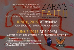 'Zara's Faith' back