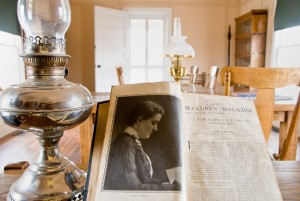 Allensworth's Mary Dickinson Memorial Library was founded and stocked by Col. Allensworth's wife, Josephine, who named it for her mother.