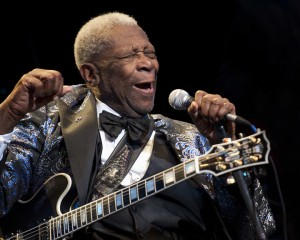 BB King sings the Blues