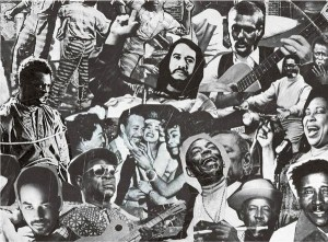 """The Blues (It Began in Africa)"" – Photomontage: Romare Bearden"