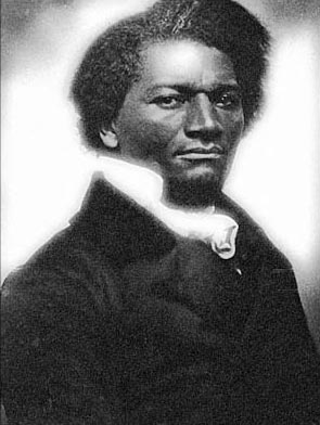 """A young Frederick Douglass, the subject of """"Mount Misery"""""""