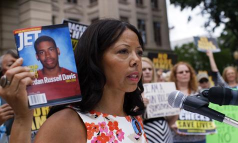 """Jordan Davis' mother in """"3 1/2 Minutes, Ten Bullets"""""""