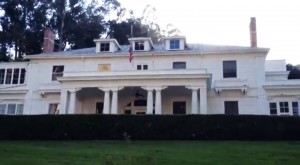 """The """"Great White"""" mansion on Yerba Buena Island where Navy Admiral Nimitz lived"""