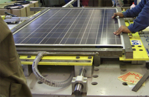 Solar-panel-manufacturing-300x195, Clean energy supporters hail key milestone: CleanPowerSF not-to-exceed rates approved by SFPUC will meet or beat PG&E, Local News & Views