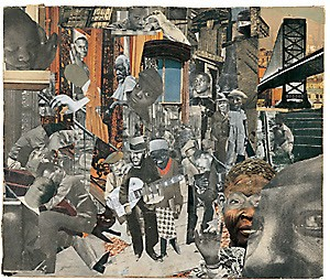 """The Street"" – Photomontage: Romare Bearden"