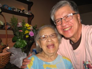 Long time friends Ms. Pickens and Anh Le on May 18, 2015