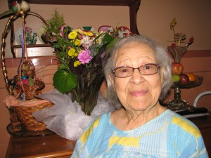 Verlie Mae Pickens at home on May 18, 2015 – Photo: Anh Le