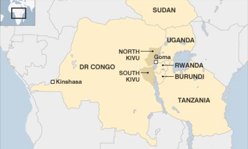 Burundi borders DR Congo's resource-rich South Kivu Province.