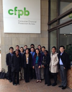 These 15 college students, from Harvard, University of Maryland and Charleston College, spent Spring Break at the Consumer Financial Protection Bureau learning about an agency they'd like to work for when they graduate.