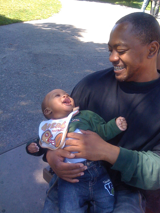 Darnell was a devoted family man.