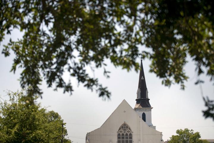 Emanuel African Methodist Episcopal Church in Charleston, S.C. – Photo: Brendan Smialowski, AFP